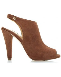 Ashby Sling Back Suede Shoes