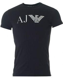 Aj Eagle Logo Crew Neck