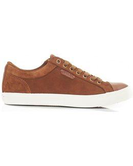 Jeffrey Suede Toe Cap Shoes