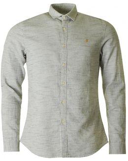 Elsworth Long Sleeved Textured Shirt