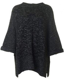Helical Cape Like Knit