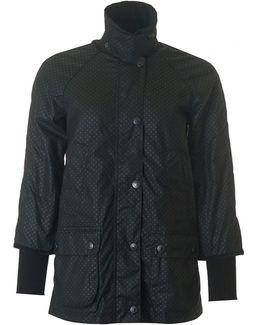 Rain Bedale Spot Wax Jacket