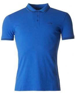 Tipped Short Sleeved Slim Fit Polo