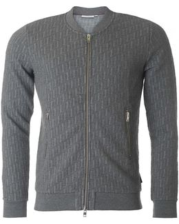 Randell Quilted Bomber Sweat