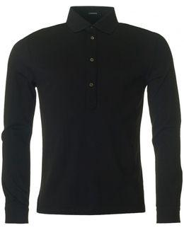 Cony Long Sleeved Polo Shirt