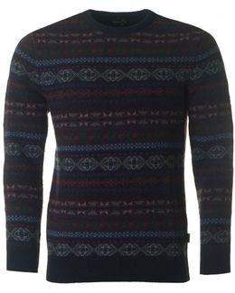 Orford Fairisle Crew Neck Knit