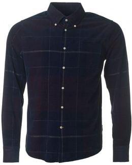 Nauton Cord Checked Shirt
