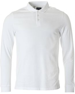 Regular Fit Long Sleeved Polo