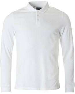 Regular Fit Long Sleeved Polo