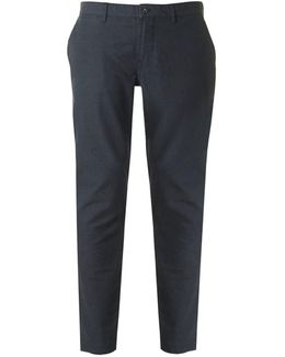 Chase Slim Fit Flannel Trousers