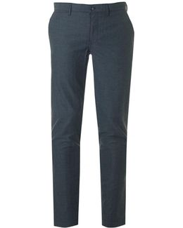 Chase Slim Fit Flannel Pattern Trousers