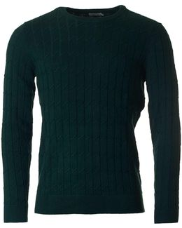 Hugo Crew Neck Cable Knit