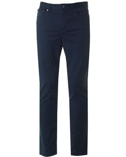 Slim 5 Pocket Twill Pants