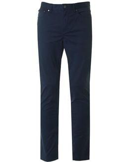Slim 5 Pocket Twill Pants