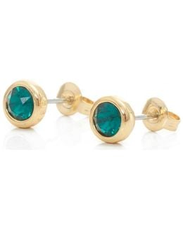 Sinaa Crystal Stud Earrings