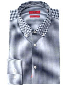 C-jenns Slim Fit Checked Shirt