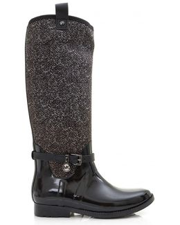 Charm Stretch Neoprene Rain Boots