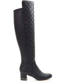 Sabrina Over The Knee Stretch Boots