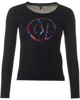 Sparkle Logo Knit