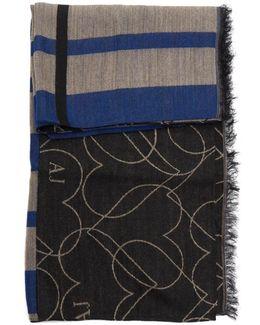 Wool Multi Pattern Shawl