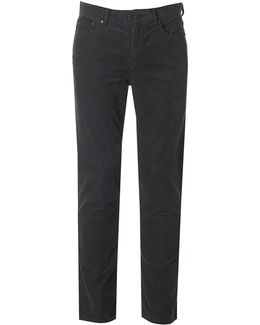 Slim Fit Pocket Cord Trousers