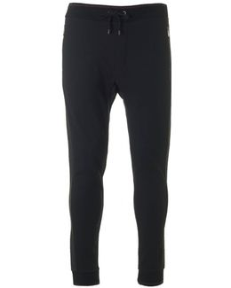 Brush Back Cuffed Track Pants