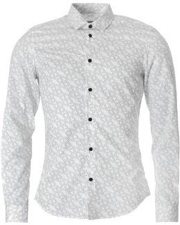 All Over Vj Poplin Shirt