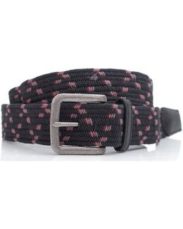 Pinnacle Multi Stripe Woven Belt