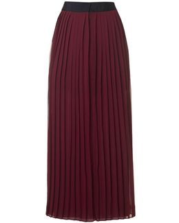 Cooper Sheer Pleated Skirt