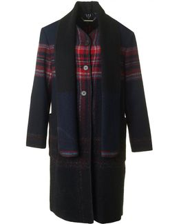 Naila Wool Blanket Coat