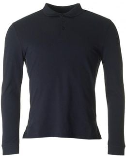 Long Sleeved Regular Fit Polo