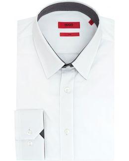 Elishan Contrast Under Collar Shirt