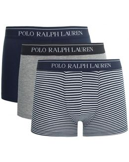 3 Pack Of Assorted Boxer Shorts