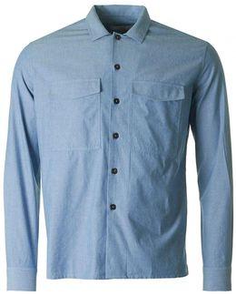 Woven Chambray Shirt