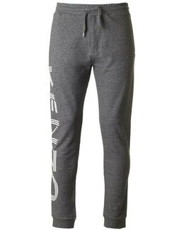 Side Logo Cotton Track Pants