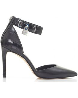 Antoinette Ankle Strap Pointed Sandals