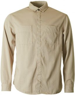 Calle Over Dyed Overshirt