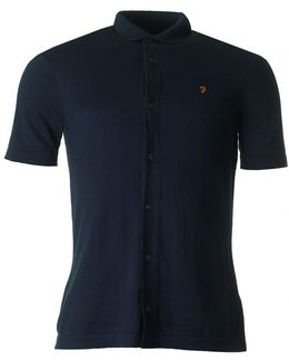 Saul Short Sleeved Knitted Polo