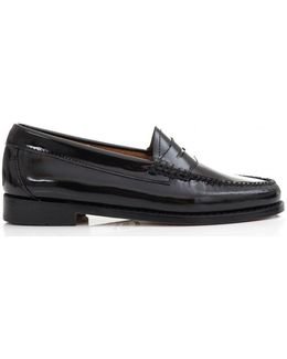 Penny Wheel Patent Leather Loafers