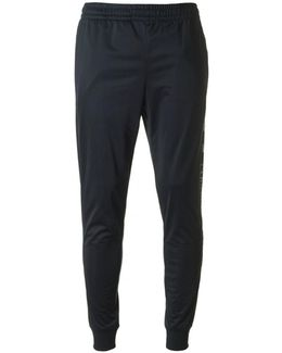 Train Graphic Poly Cuffed Joggers