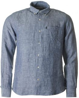 Frank Linen Tailored Fit Shirt