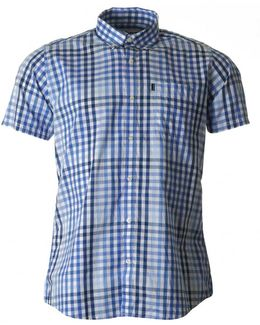 Russell Tailored Fit Check Shirt