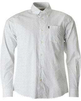 Curtis Tailored Fit Paisley Shirt