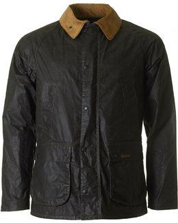Truss Contrast Collar Wax Jacket