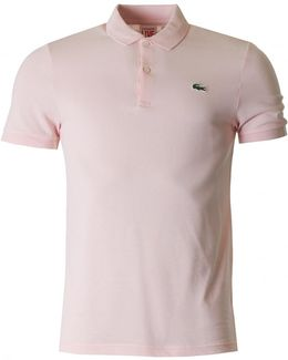 Short Sleeved Slim Fit Polo