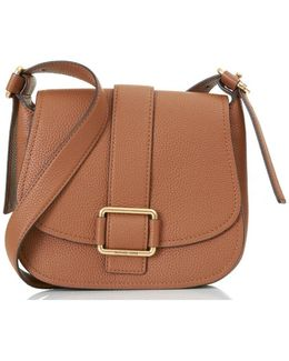 Minni Large Saddle Cross Body Bag