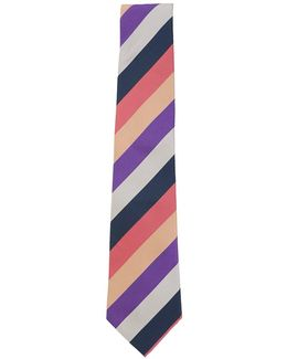Multi Stripe Diagonal Tie