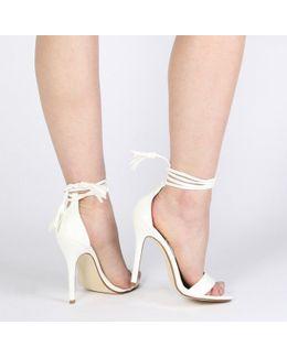 Juliette Stiletto Heels In White