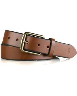Leather Saddler Belt