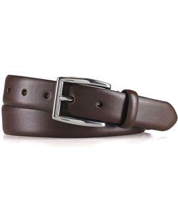 Saddle Leather Dress Belt